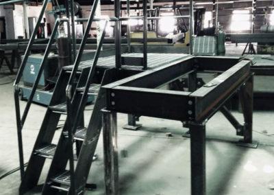 Structural Steel Generator-platform
